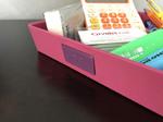 vuota tasche rosa spazio per logo personalizzabile