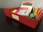 vuota tasche rosso spazio per logo personalizzabile 2